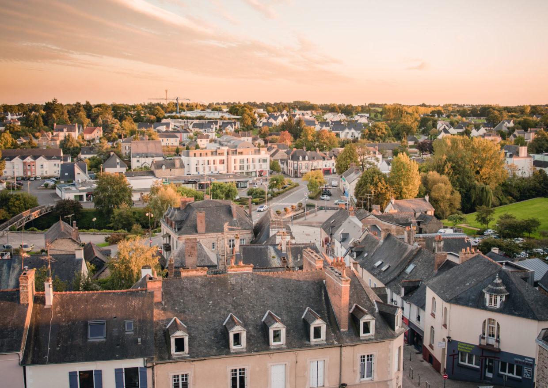 Châteaubourg – vue de haut