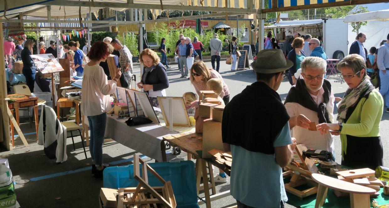 Marché producteurs et créateurs parking du Gué (4)