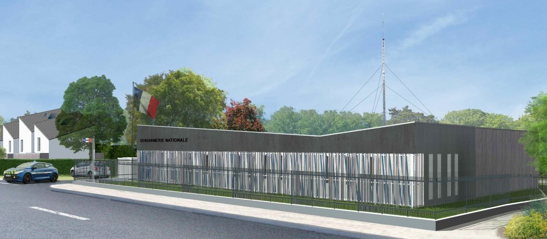 Gendarmerie – futur bâtiment