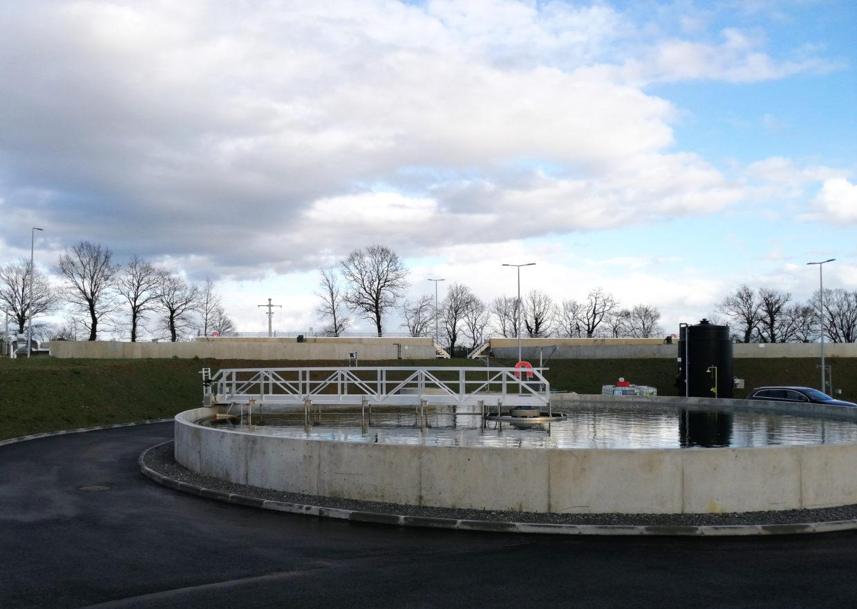 Station épuration Les Vergers