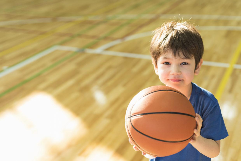 Enfant basket